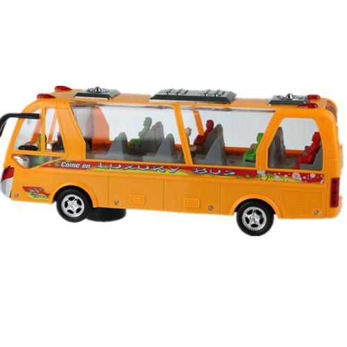 Detalhes sobre novo 2014 classic toys intelligence viagem de carro amarelo autocarro público(China (Mainland))