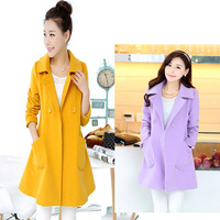 2014 Hot selling fashion women winter coats women warm jackets coats women trench coat plus size free shipping