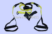 New Arrival Fitness Training Hanging Belt Home Pull Rope Exerciser Resistance Strap, 20sets/lot