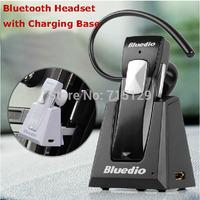 Bluedio 99B Wireless Bluetooth Headphone HD Stereo Headset in-ear Earphone with MIC Charging base for Samsung/iPhone/Car Dirver