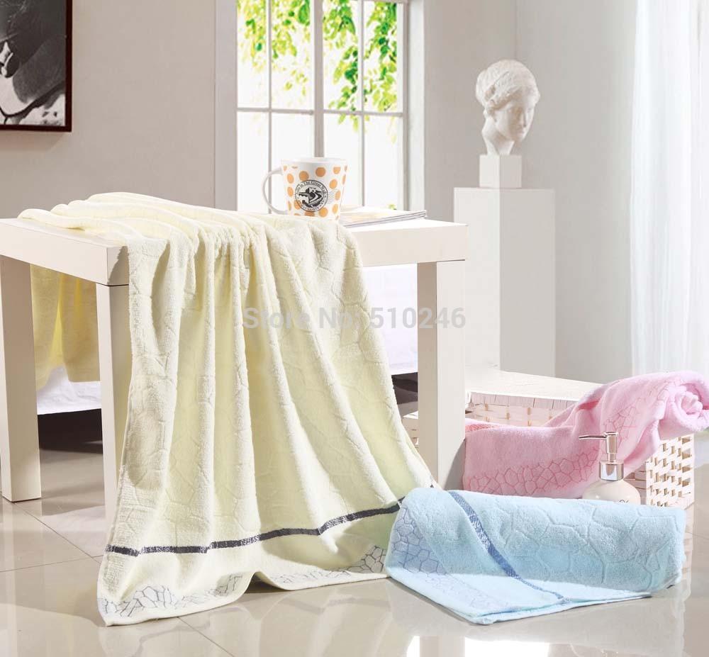 70*140cm 100%cotton Bath Towel Bulk Beach towel Spa Salon Wraps Terry Towels cheap bulk towel toalha(China (Mainland))
