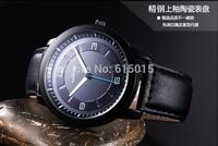 New Best-Selling Men's atmos Clock Leather Strap Watches Full Men Watch Steel Military Quartz Men's Wristwatch ML0574