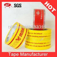 Scotch Packaging Tape Custom Logo Adhesive Tape
