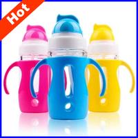 300ML Baby water bottle baby drinking cup children cartoon straw cup leak proof baby child bottles for 9 month child SB01