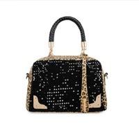 2014 Europe new winter fashion casual bag women shoulder bag leopard sequins Mobile Messenger bag