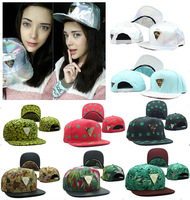 Free shipping! Hater Snapback caps men street hip hop Floral bone hats flat-brimmed cap hat  neymar  High quality!