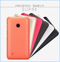 Free ship Original Nillkin Super Frosted Shield case for Nokia Lumia 530 Retail Box Free for Nokia Lumia 530 screen protector