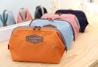 2014 New Cute Women's Lady Travel Makeup bag Cosmetic pouch Clutch Handbag Casual Purse B203
