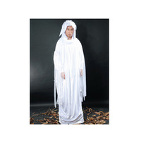 White Devil Ghost Costume Holiday Costume Unisex Festival Costume Halloween Costume