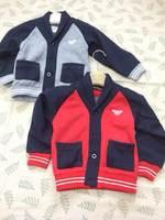 Retail  Brand  2014  New  fashion  spring/autumn  children's  sweater  long  sleeve  patchwork  pattern  boy's  sweater