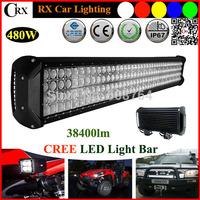 "Hotsale 4 ROWS  41"" 480W CREE LED Driving Lights 4x4 Bar Spot Flood Comb Car Truck  SUV ATV OffRoad Work led bar Fog Lamp 9V~32V"