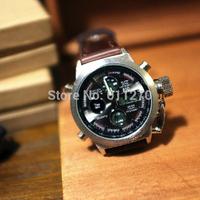 Big dial watches multifunction fashion quartz watches,Japanese fashion sports watch waterproof