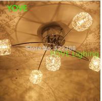 Ikea Ceiling Lights Modern Abajur Lustres De Sala Ceiling Light Luminaria Led Lamp Bedroom Lamp Small Crystal Aluminum Lights