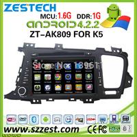 ZESTECH 8'' Touch Capacitive screen Car radio stereo dvd auto for Kia K5 android car dvd gps