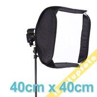 Portable SoftBox 40cm for Speedlite Flash Light PFD1A Hot sales