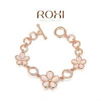 11.11 2014 ROXI -Fashion Crystal bracelet Bangle AAA zircon women bracelet charm bracelet fashon jewelrys