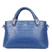 2015 new women handbag crocodile pattern women messenger bags three-piece shoulder bags fashion tote hot wallets crossbody bag