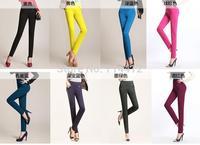 Factory Direct 2014 Autumn new women's large size Korean version of casual pants waist pencil pants wholesale and retail women
