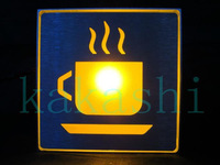 Coffee store sign/LED with RED light logo sign/male locker room indicator AC85V-240V for Xmas and Hallowmas
