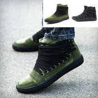 New Arrival 2014 Fashion Men's Canvas Shoes,Vintage High Style Male Boots,Student Flat Walk Sneaker Casaul Shoes