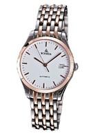WOERDA  Men's watch automatic mechanical watch men watch steel belt business fashion watch waterproof trainspotter