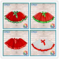 48PCS/LOT EMS Free Shipping Beautiful Stylish Little Girl Wearing Short Skirts Christmas Tutus For Girls Many Colors