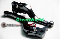 Free shipping motorcycle moped scooter CNC brake lever Front  drum brake Rear discbrake  for yamaha honda suzukiJ-0070