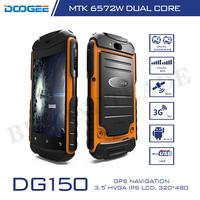 Original Doogee Brand DG150 MTK6572 Waterproof Shockproof Dustproof Cell Phones Dual Core 512MB Adventure Android Smartphone