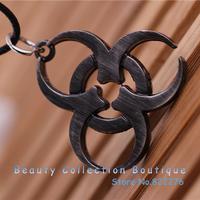 12pcs/lot Free shipping Anime Jewelry Naruto Sasuke kaleidoscope Pendant  Necklace Cosplay Accessory #AS023