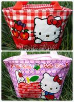 New 2PC cute Hello kitty lunch bag Handbag Girls Handbag