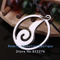 12pcs/lot Free shipping Anime Jewelry Naruto Konoha logo Pendant  Necklace#AS019