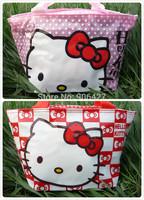 New Girls Handbag Hello kitty lunch bag 2PC cute Handbag