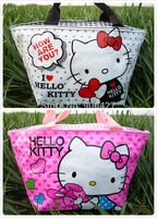 2PC Cute lunch bag Hello kitty Perfect Girls Handbag