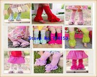 Wholesale Ruffle Baby Lace Leg Warmers
