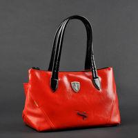 Red designer gym bag  small travel bag,high quality PU leather sports bag brand gym bags GB185