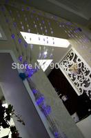 Holiday sale 2*1.6M LED Lights curtain string light rope lamp icicle lighting christmas wedding wedding and christmas decoration