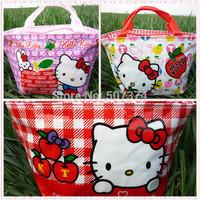 Hello kitty Tote Lunch Box Girls Handbag gift 3PC