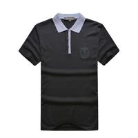 Billionaire italian couture men's clothing t-shirt short-sleeve 2014 fashion commercial t