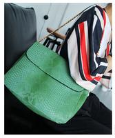 Free shipping 2014 new Korean brand Supersnap women's high quality fashion vintage handbag brief shoulder messenger bags green