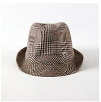 1pc Unisex Women Men wool Jazz hat Brand Fashion Casual striped Topper