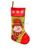 (1PCS/Lot) Christmas socks, Plus size Length 45CM, Long Socks, Christmas decoration, For Christmas/ kids, Mix colors