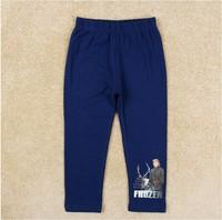 Free shipping 2014 New Arrival Boys Frozen leggings frozen legging long pants Baby Sven Printed trousers NOVA Cartoon Clothing