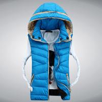 2014 autumn and winter lovers vest women's vest thickening cotton vest male vest waistcoat female