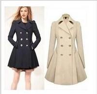 Free shipping 2014 new winter coat commuter Slim thin coat windbreaker jacket windbreaker jacket Ms. star models