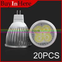 20PCS 5W MR16 5x1W Energy Saving High Power Led Light Downlight Spot Lights Spotlights Warm/Cool White  Bulb Lamp 110v 220v