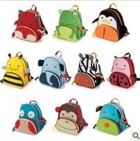 BG021 NO PROFIT HOT 2014 New Cartoon Cute Animal Zoo Children Mini School Bags Kids Backpacks Boy Girl Toddlers Back pack
