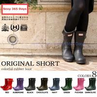 Free Shipping 2014 Women H Brand Fashion Leather Rain Boots Waterproof wellies Autumn Women Rainboots Ankle Water Platform Shoes