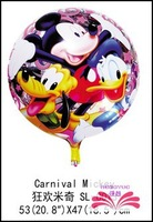 Free shipping Mickey and Minnie foil balloon Birthday party decoration cartoon balloons helium balloons toy balloon