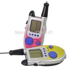 high quality New Mini 2 Way Walkie Talkies Twin Set Radios Game Interphone Kid Toy gift I018 Free Shipping n2RmkT