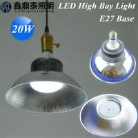 Wholesale 20pcs/lot High Bay Light 20W LED Lamps E27 Blub Supermarket home decoration led pendant light